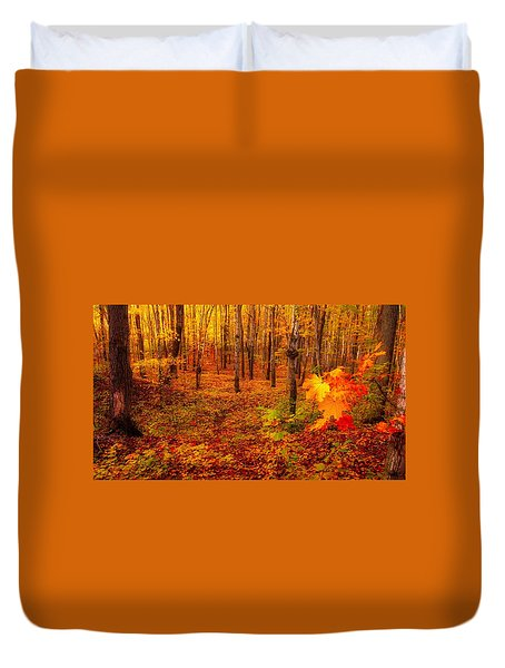 Fall Sugar Bush Duvet Cover