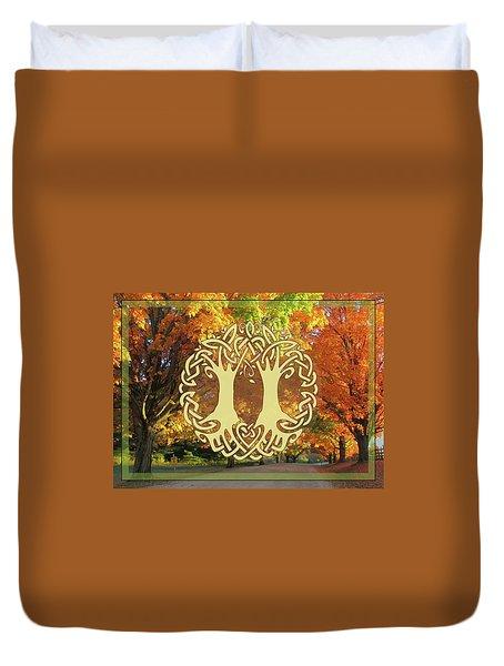 Fall Wedding Duvet Cover
