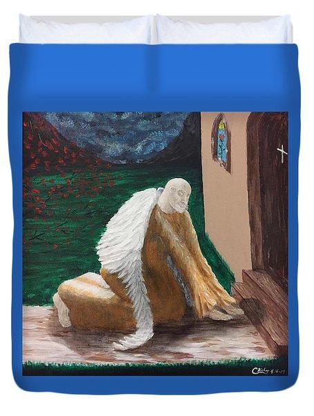 Fallen Angel Duvet Cover