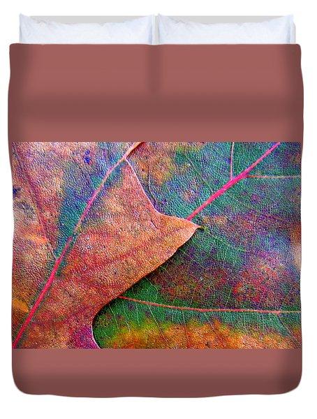 Fallen Foliage Duvet Cover