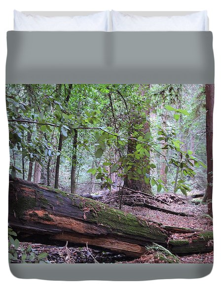 Fallen Giant Duvet Cover