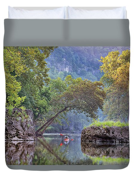 Fallen Giants Duvet Cover