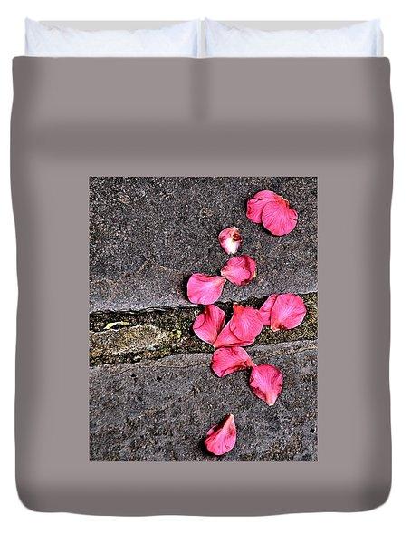 Fallen Petals Duvet Cover