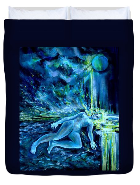 Fallen Star Duvet Cover