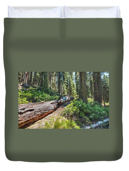 Fallen Tree- Duvet Cover