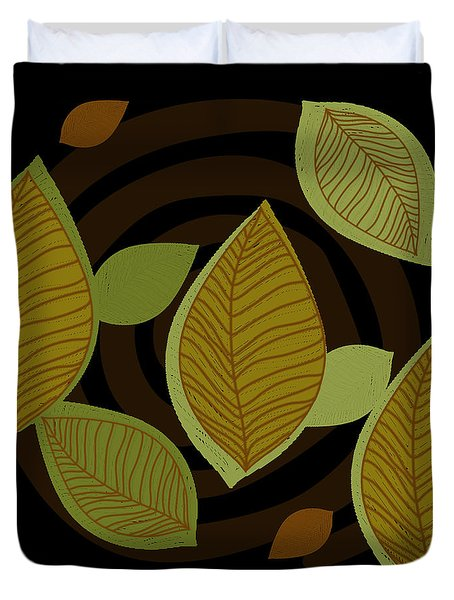 Falling Into Color Duvet Cover by Kandy Hurley
