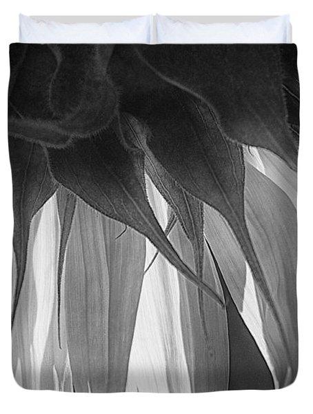 Falling Monochrome  Duvet Cover