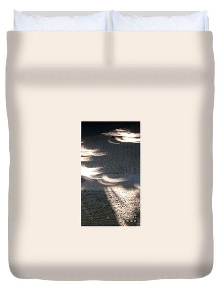 Falling Sunlight Duvet Cover