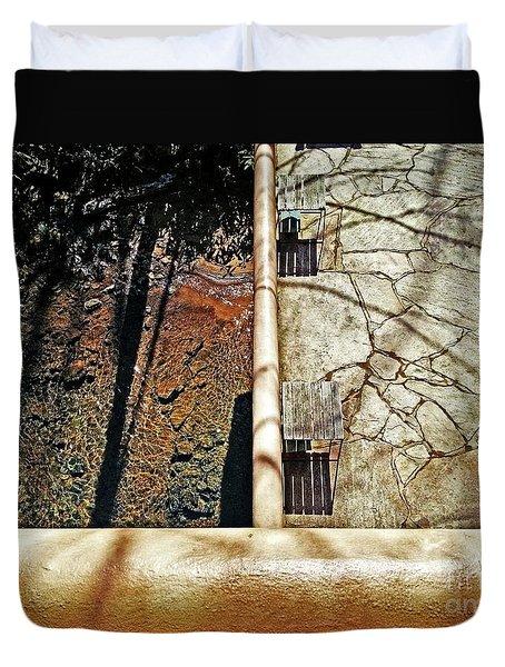 Frank Lloyd Wrights Fallingwater Duvet Cover