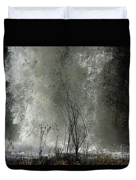 Falling Waters Duvet Cover