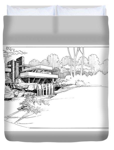 Fallingwater Duvet Cover