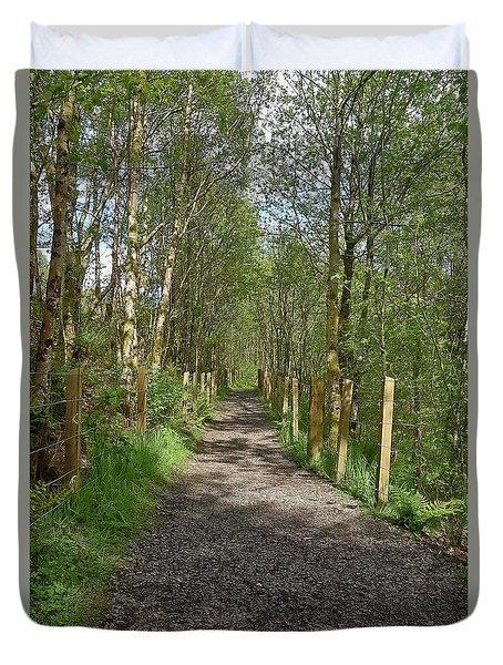 Falloch Path Duvet Cover