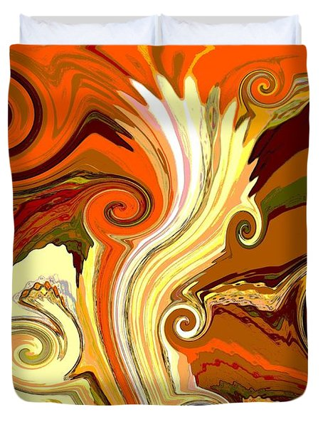 Fallopian Duvet Cover by Ann Johndro-Collins