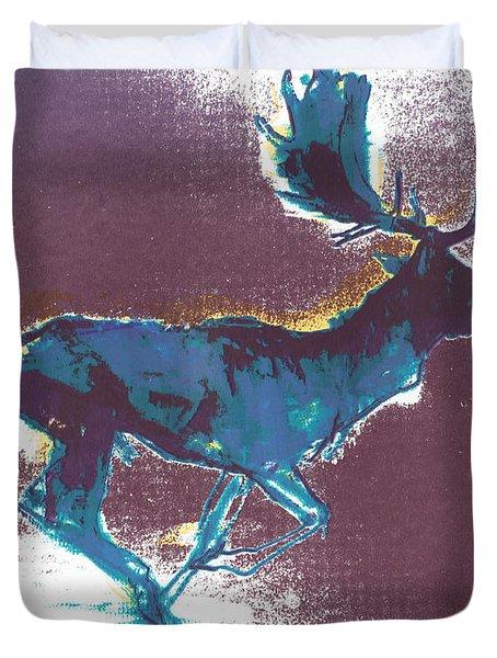Fallow Buck Duvet Cover