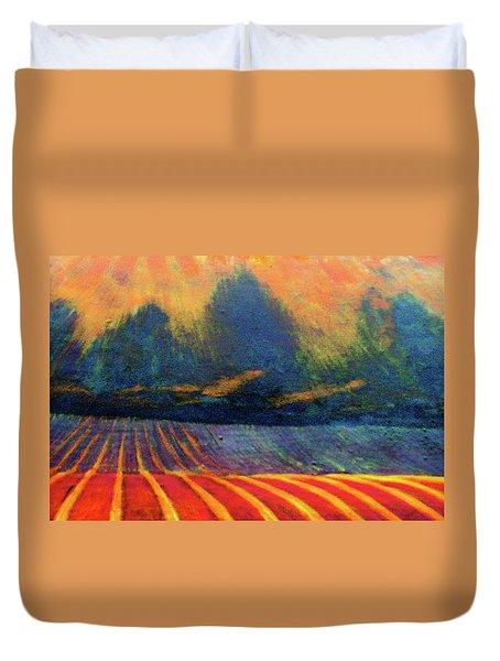 Fallow Field 2 Duvet Cover