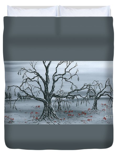 Fallow Duvet Cover by Kenneth Clarke