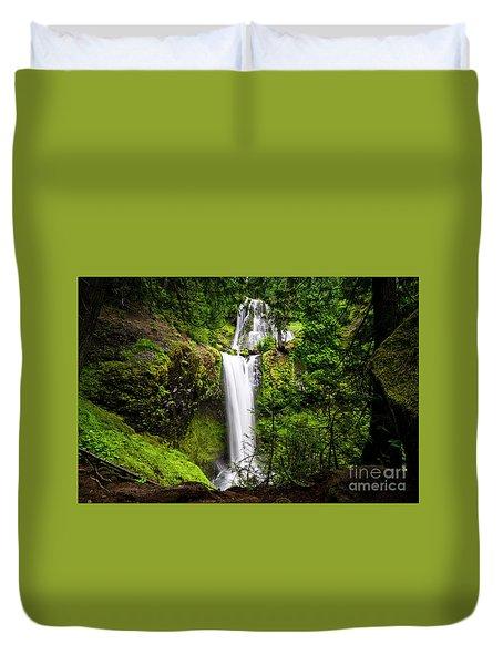 Falls Creek Falls Duvet Cover