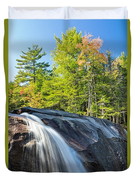 Falls Diana's Baths Nh Duvet Cover
