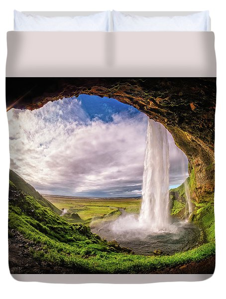 Falls Eye Duvet Cover
