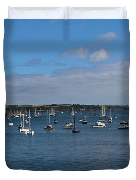 Falmouth Harbour Duvet Cover by Brian Roscorla