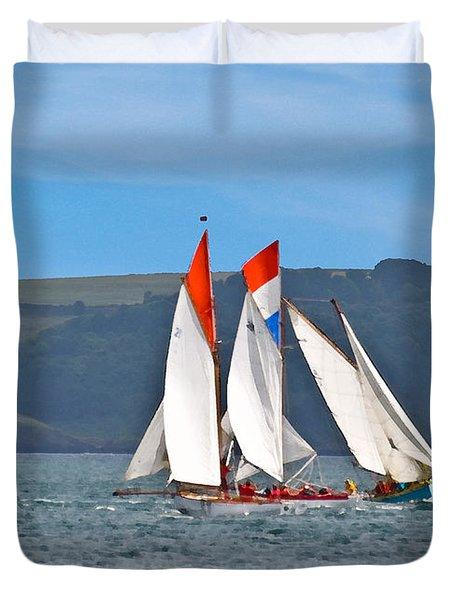 Falmouth Reggatta  Duvet Cover