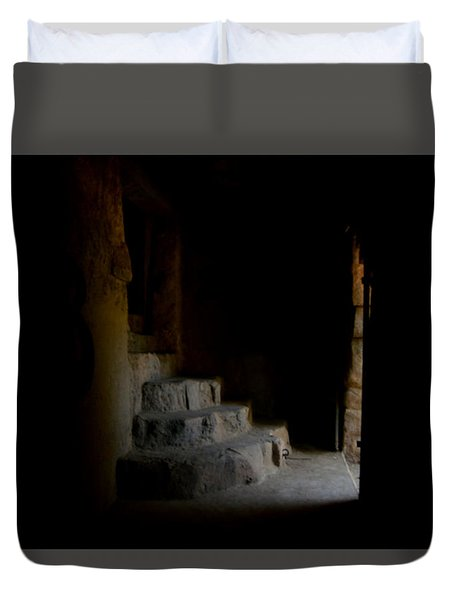 False Escape Duvet Cover by Nature Macabre Photography