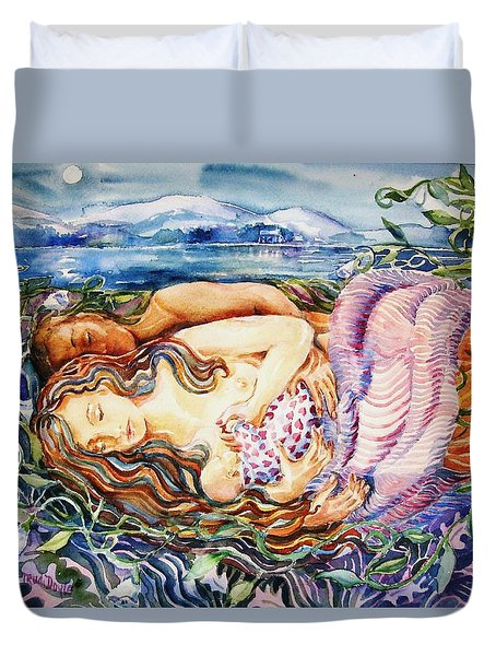 Family Covolvolous  Duvet Cover by Trudi Doyle