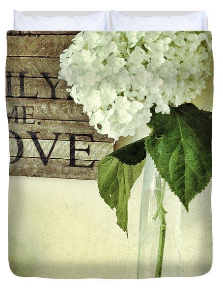 Family, Home, Love Duvet Cover