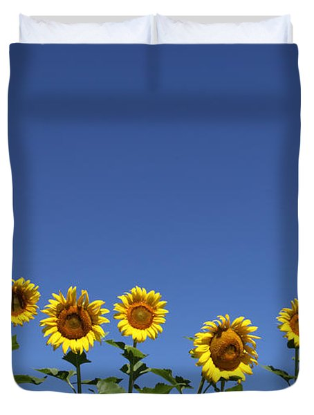 Family Time Duvet Cover by Amanda Barcon