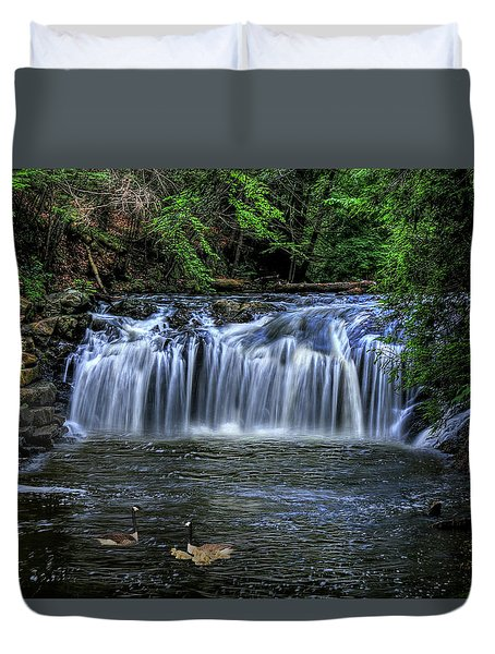 Duvet Cover featuring the digital art Family Time by Sharon Batdorf