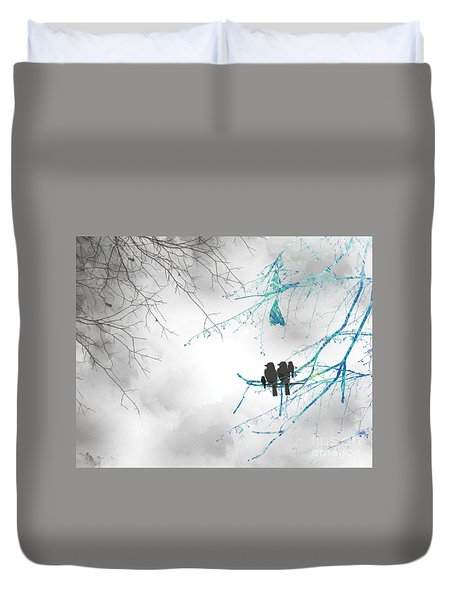Family Togetherness Duvet Cover
