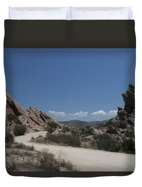 Famous Rocks Duvet Cover by Ivete Basso Photography
