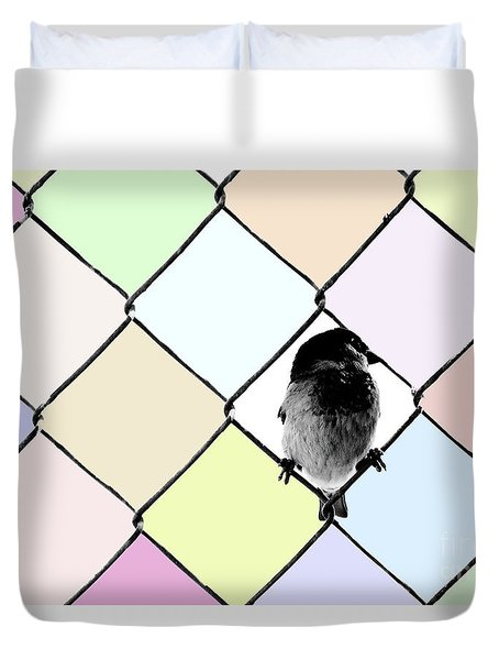Fancy Colors Duvet Cover