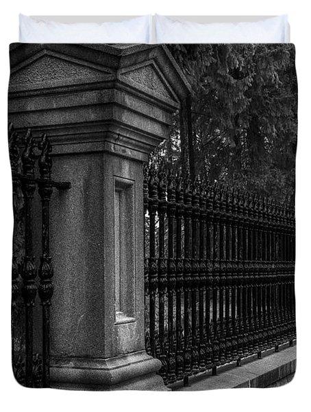 Fancy Fence Duvet Cover