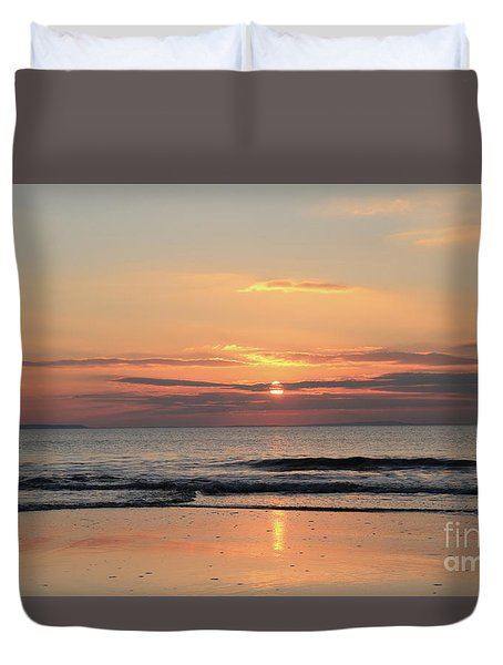 Fanore Sunset 3 Duvet Cover