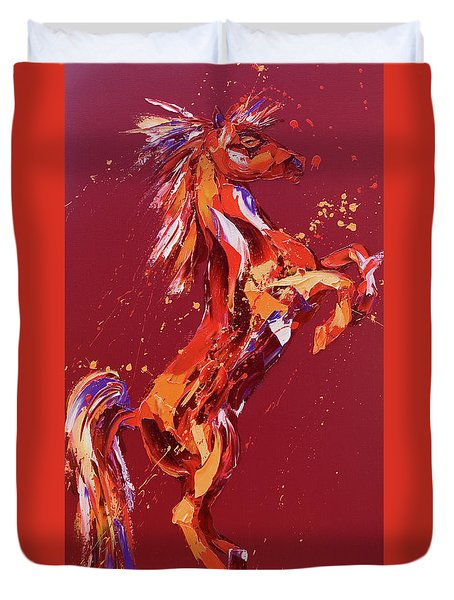 Fantasia Duvet Cover by Penny Warden