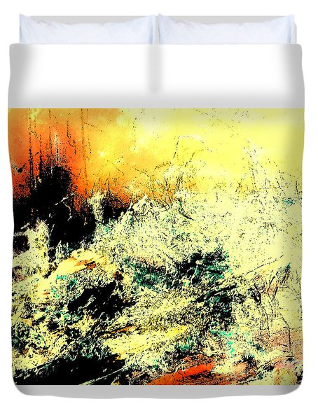 Fantasy Abstract Created Artwork    Duvet Cover