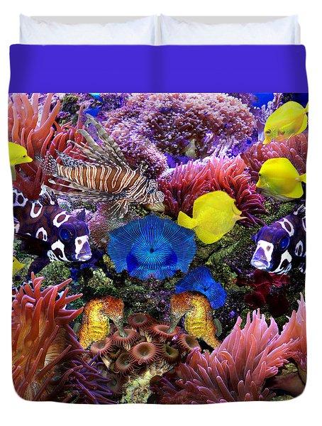 Fantasy Aquarium Duvet Cover