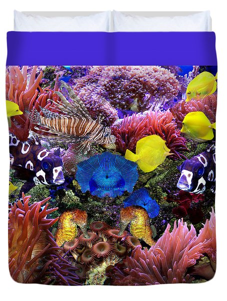 Fantasy Aquarium Duvet Cover