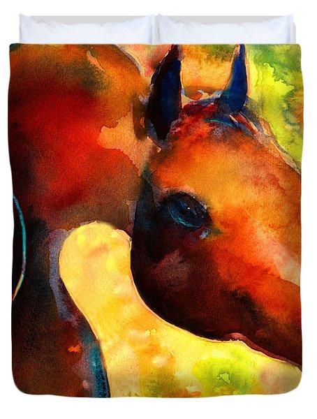 Fantasy Arabian Horse Duvet Cover