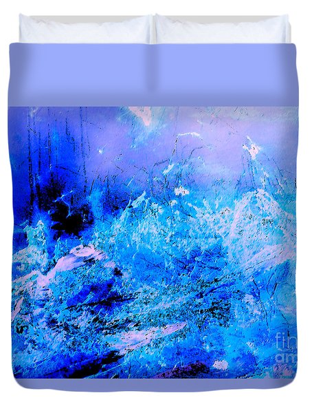 Fantasy Blue Artwork Duvet Cover
