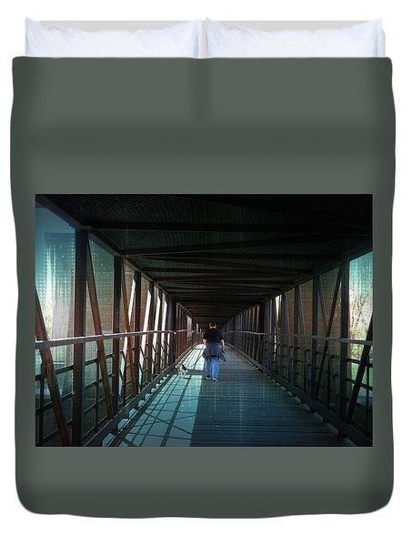 Fantasy Bridge Duvet Cover