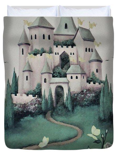 Fantasy Castle Duvet Cover