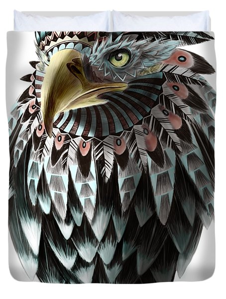 Fantasy Eagle Duvet Cover