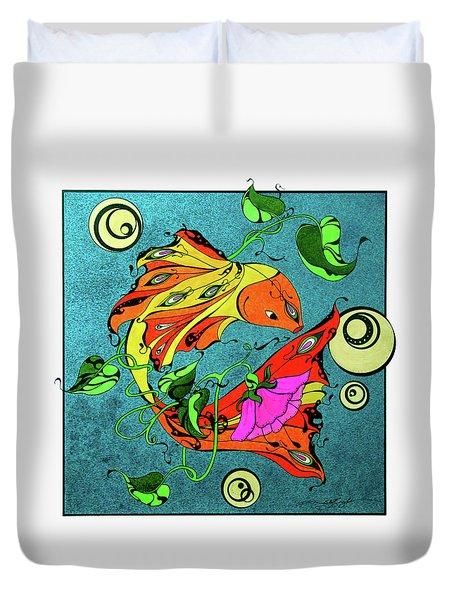 Fantasy Fish Duvet Cover