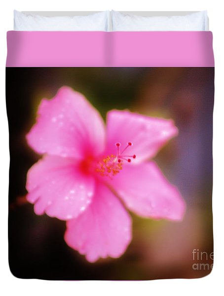 Fantasy Floral Duvet Cover by Craig Wood