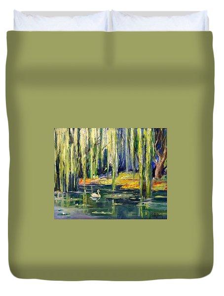 Fantasy Lagoon Duvet Cover