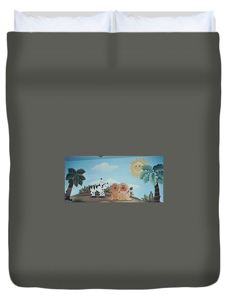 Fantasy Land Duvet Cover