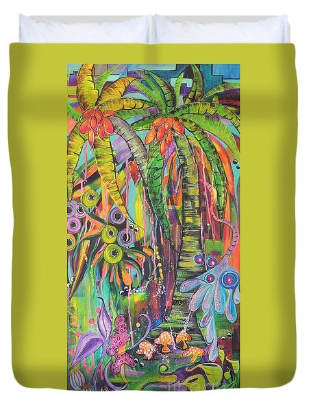 Fantasy Rainforest Duvet Cover