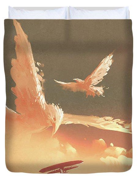 Fantasy Sky Duvet Cover